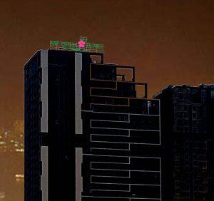 Làm bộ chữ nổi tòa nhà cao tầng